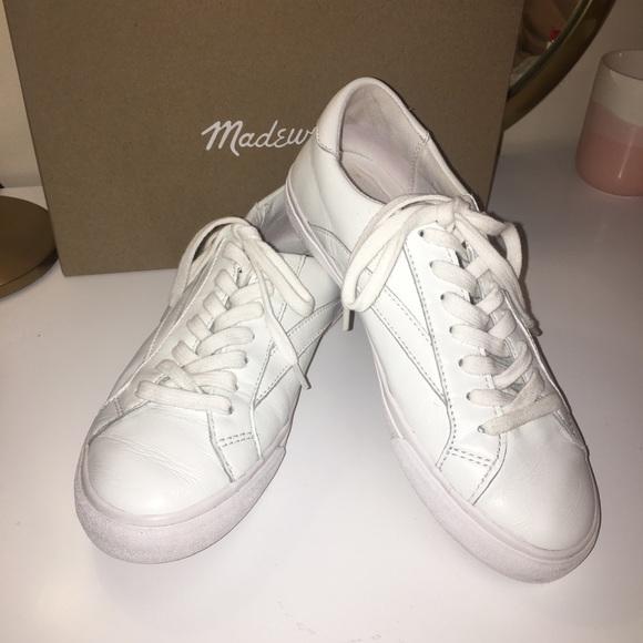 Madewell Womens Sidewalk Lowtop Sneaker